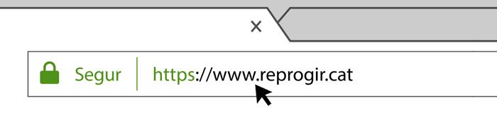 LA NOSTRA PÀGINA WEB, ARA MÉS SEGURA!